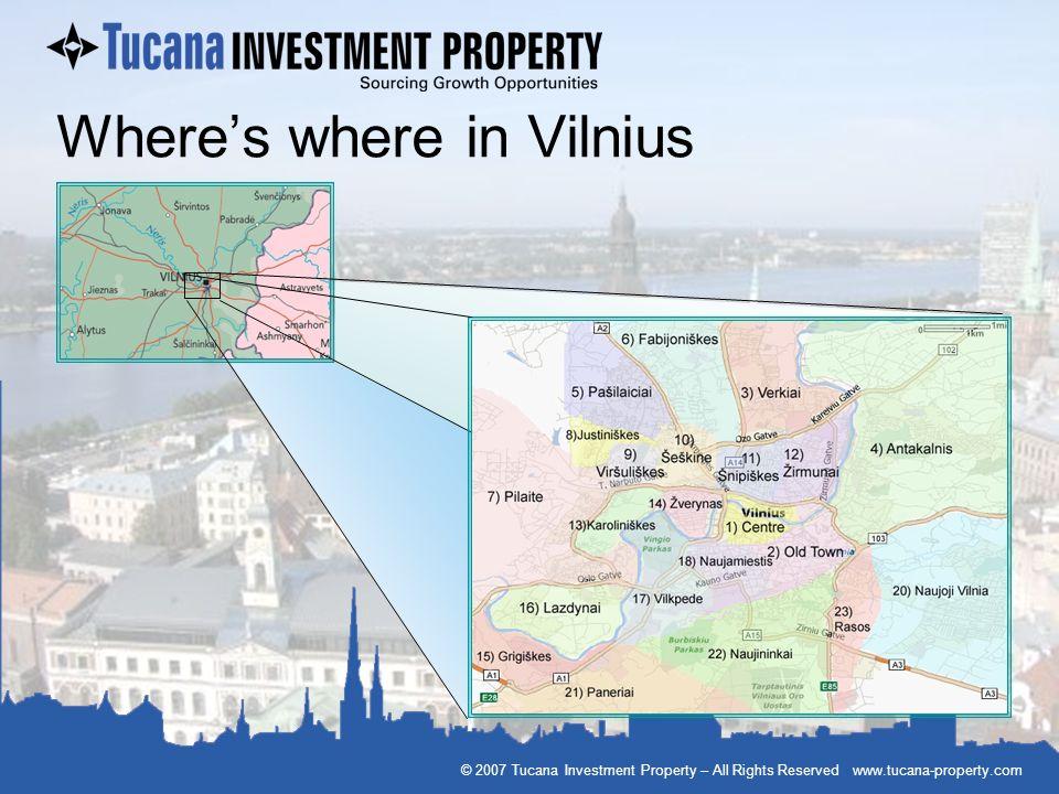 Where's where in Vilnius