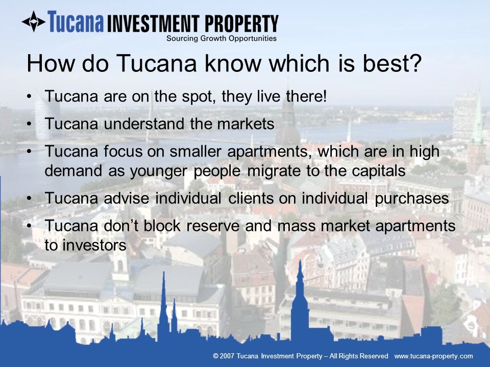 How do Tucana know which is best