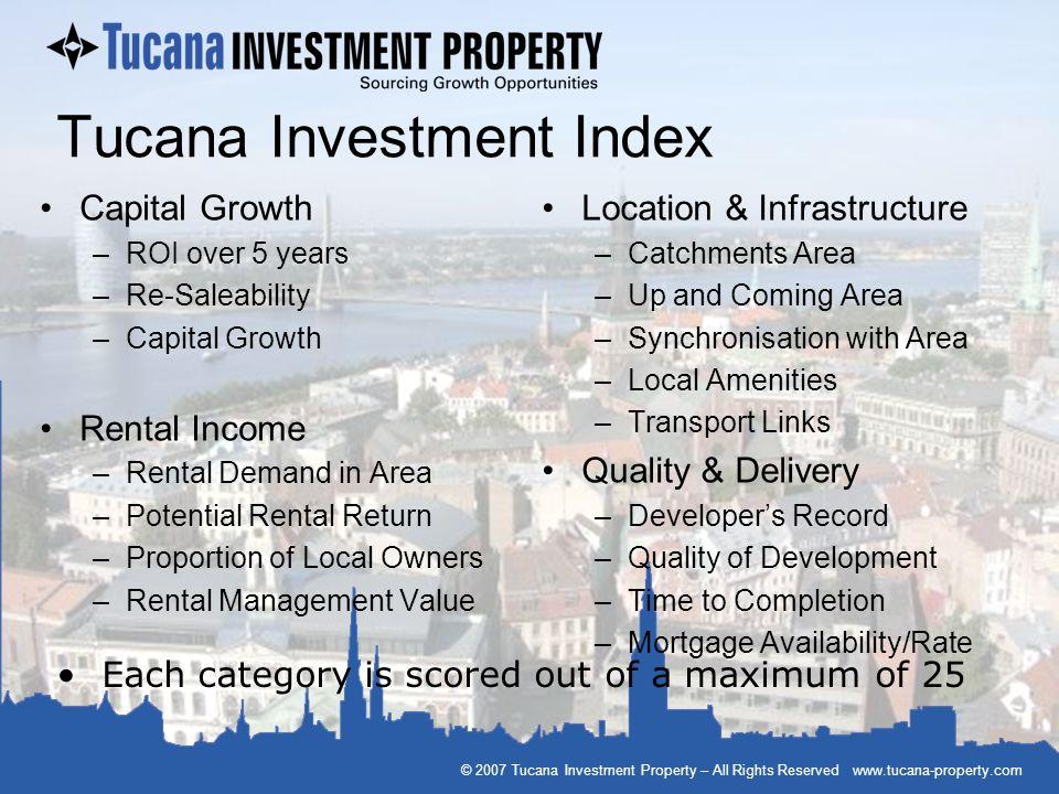 Tucana Investment Index