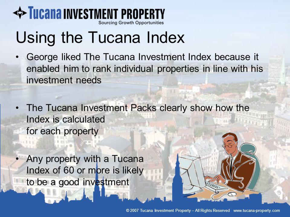 Using the Tucana Index