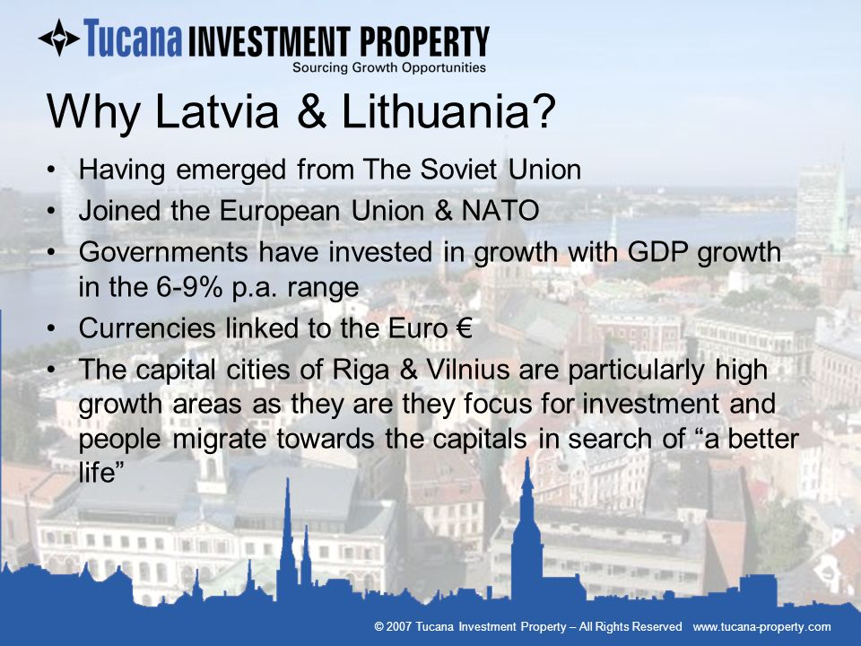Why Latvia & Lithuania Having emerged from The Soviet Union