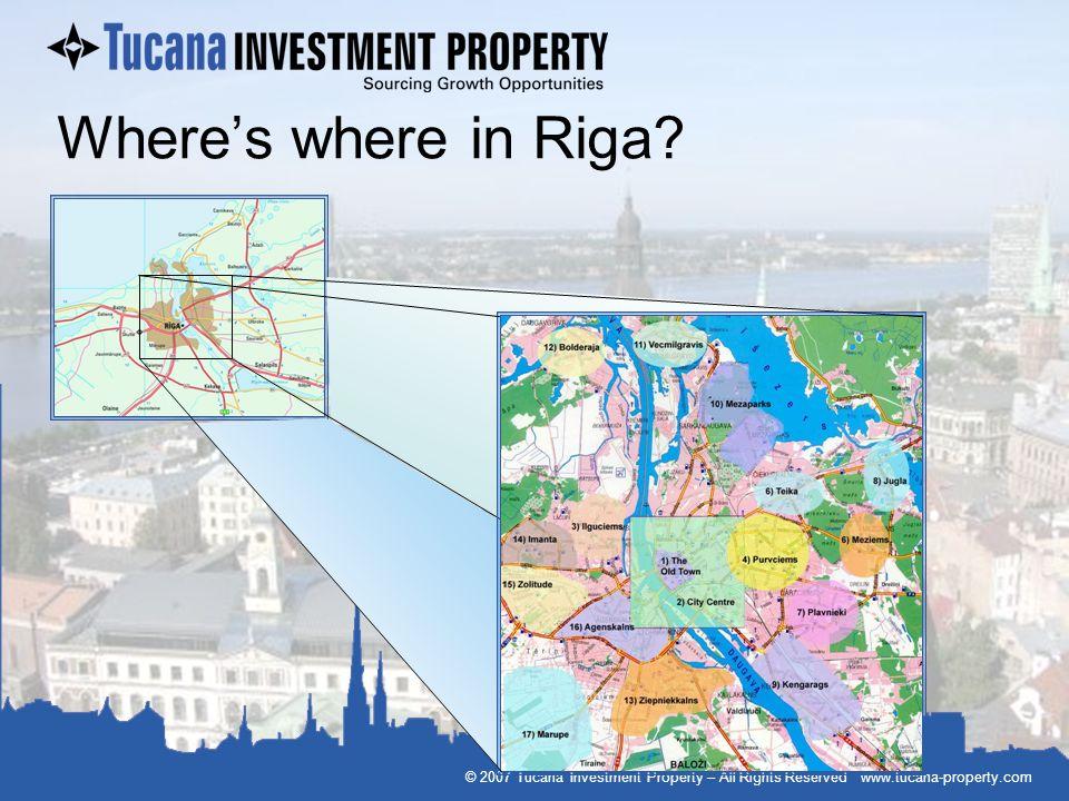 Where's where in Riga.