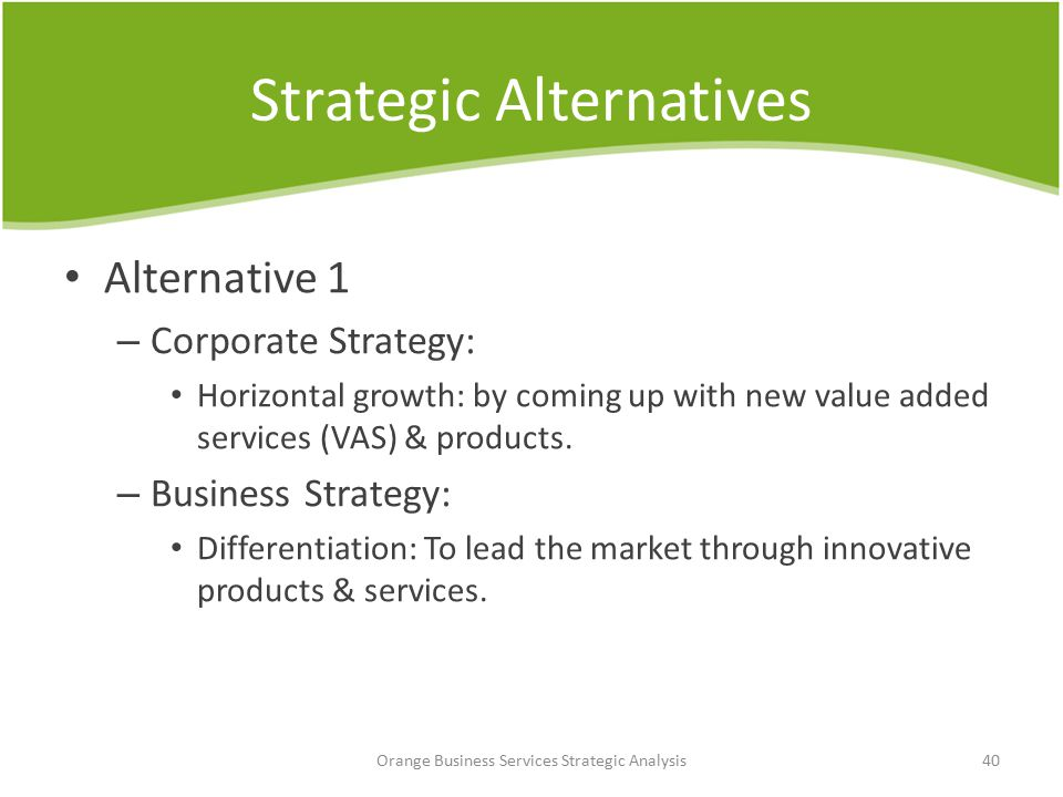 horizontal strategy for a business