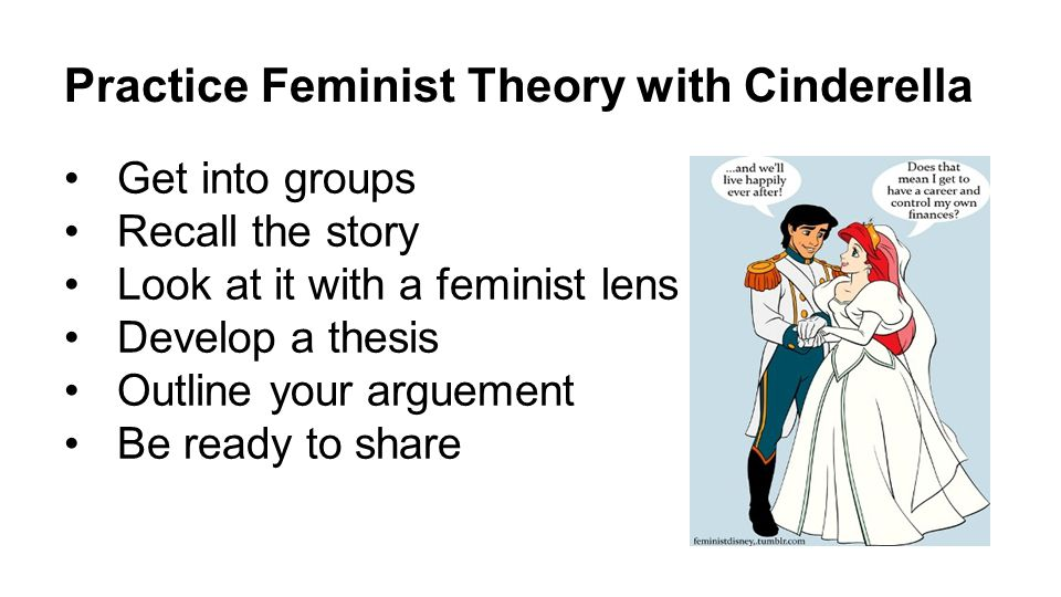 essay feminist in theory 1235 words free sample essay on feminism feminism refers to political literary criticism, art history, and psychoanalysis is called feminist theory.