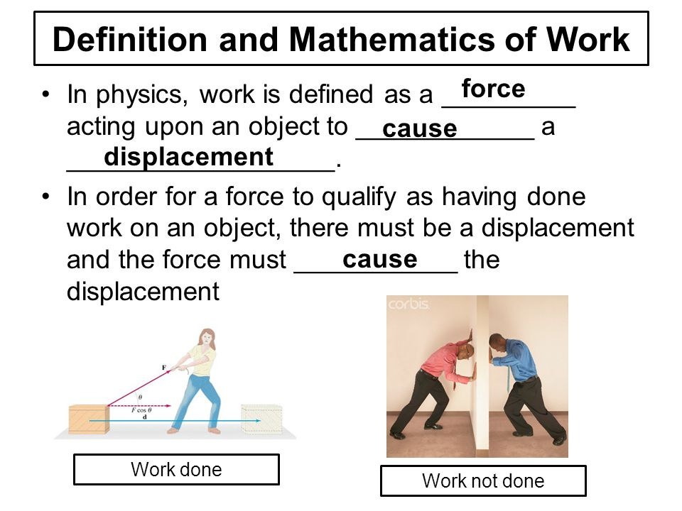 work power and energy relationship definition
