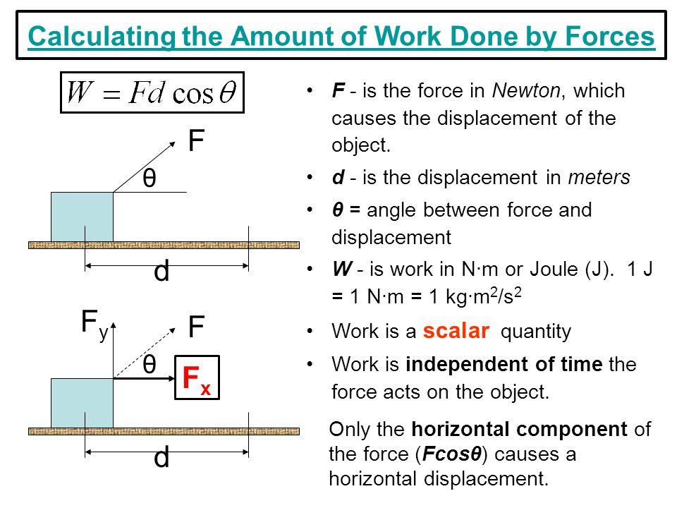 Work Energy and Power Lesson 1 Basic Terminology and Concepts – Work Energy and Power Worksheet Answer Key