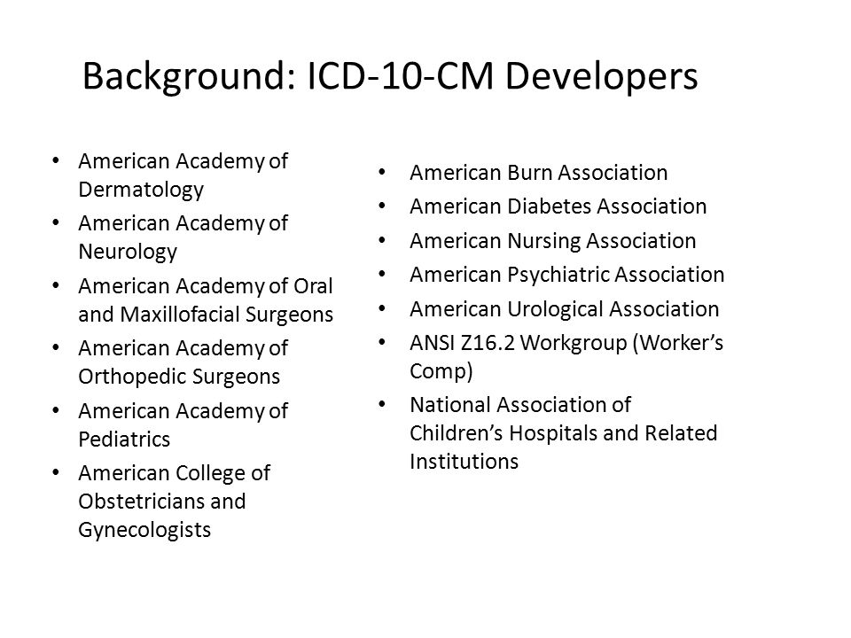 Overview Of Er Dx Coding In Icd 10 Cm Ppt Download