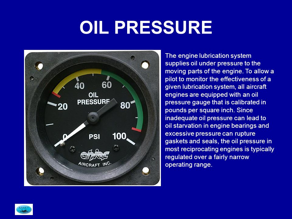 Module 16 piston engines ppt download oil pressure thecheapjerseys Gallery