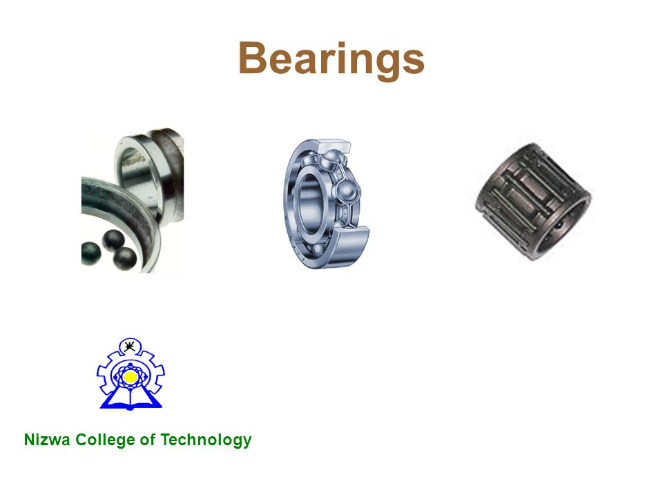 Bearings Nizwa College of Technology