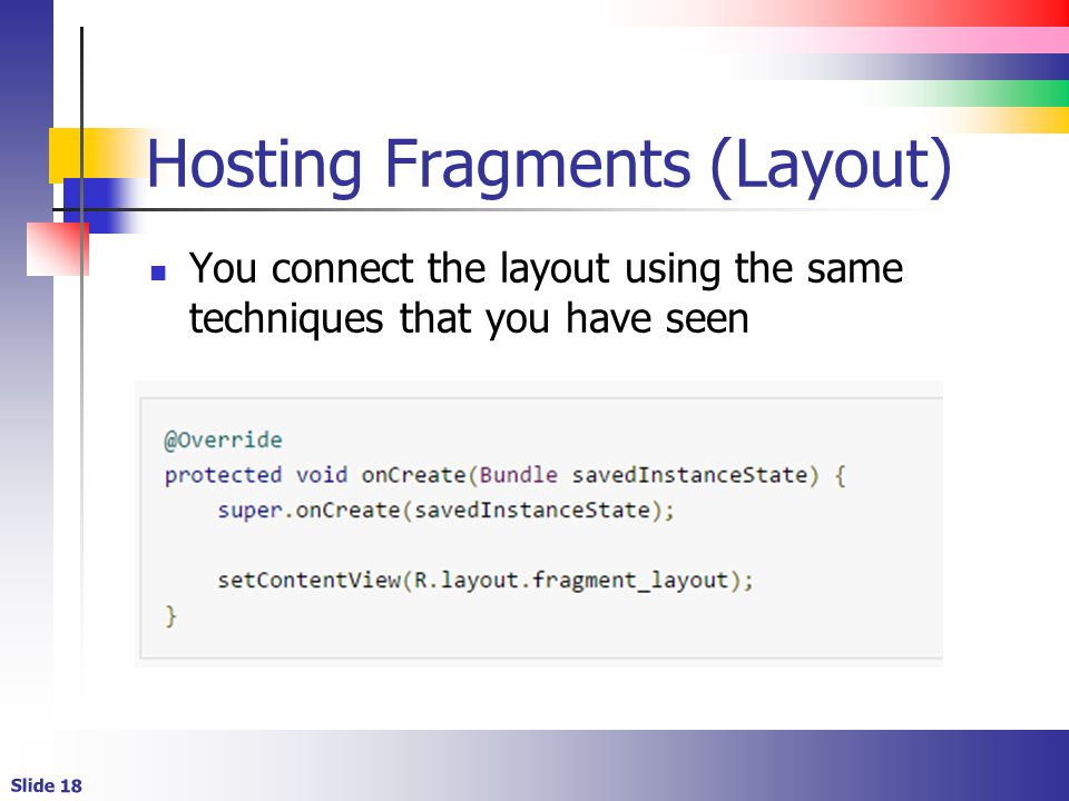 Android Fragments. - ppt video online download
