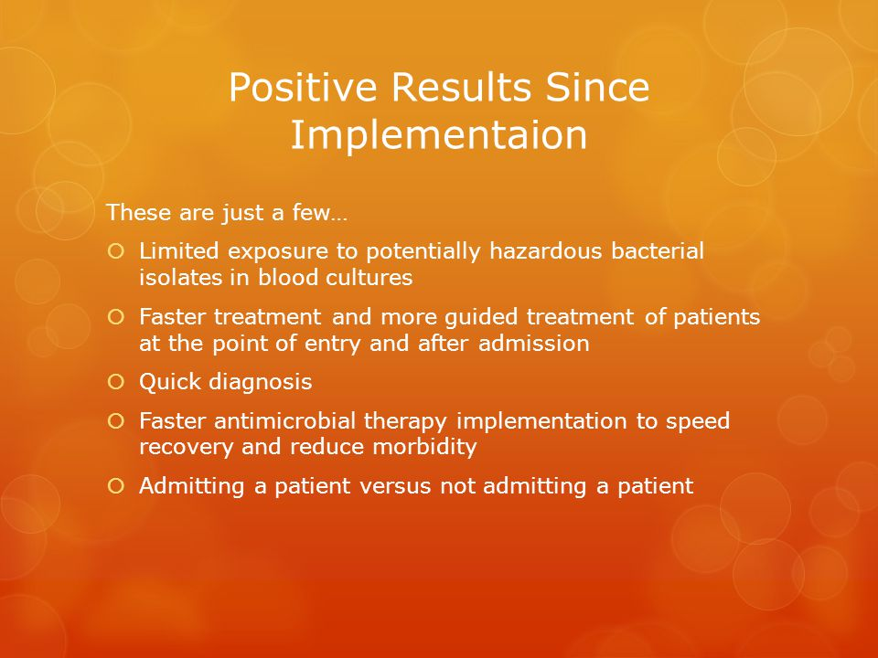 Positive Results Since Implementaion