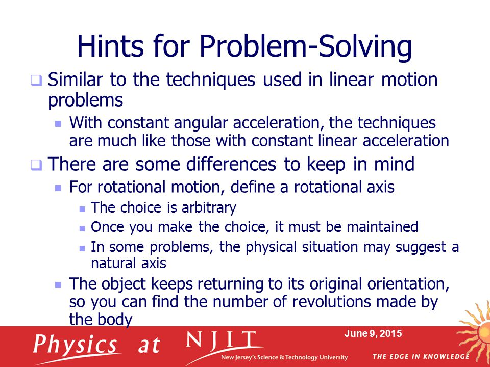 Hints for Problem-Solving