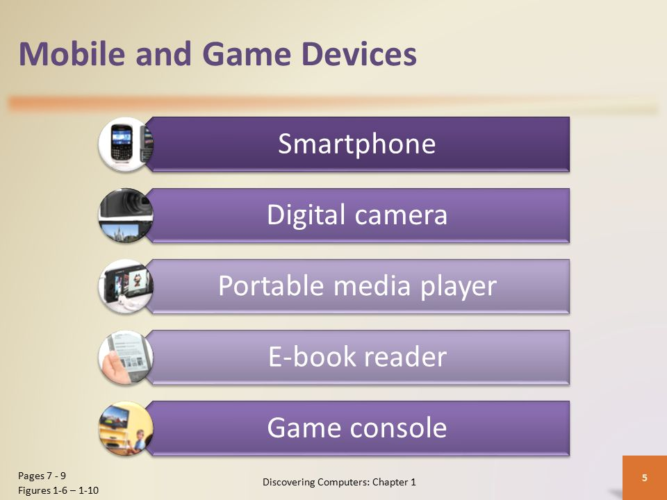 Mobile and Game Devices