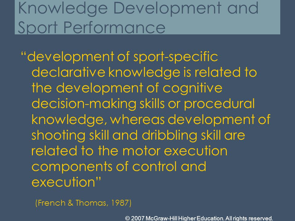 The Relationship between Expertise in Sports, Visuospatial, and Basic Cognitive Skills