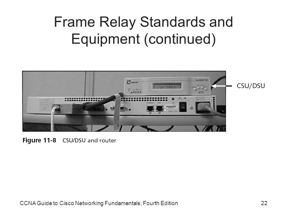 Frame Relay Standards and Equipment (continued)