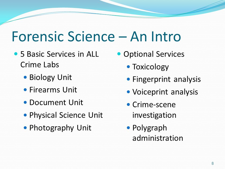 Crime Scene Investigation and Forensic Science Articles
