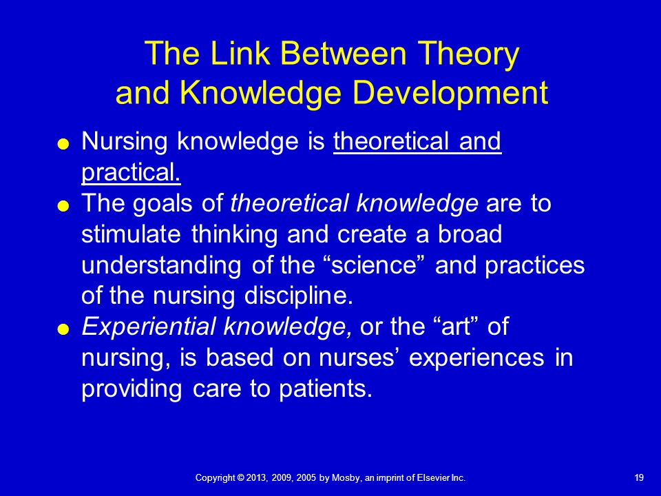 link between concept and theory A nursing theory is a prepositions are statements that explain the relationship between the to develop nursing as a profession the concept of theory must.