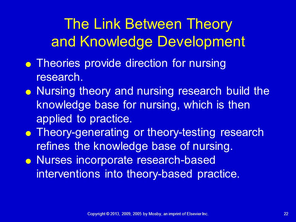 Importance of Nursing Theory