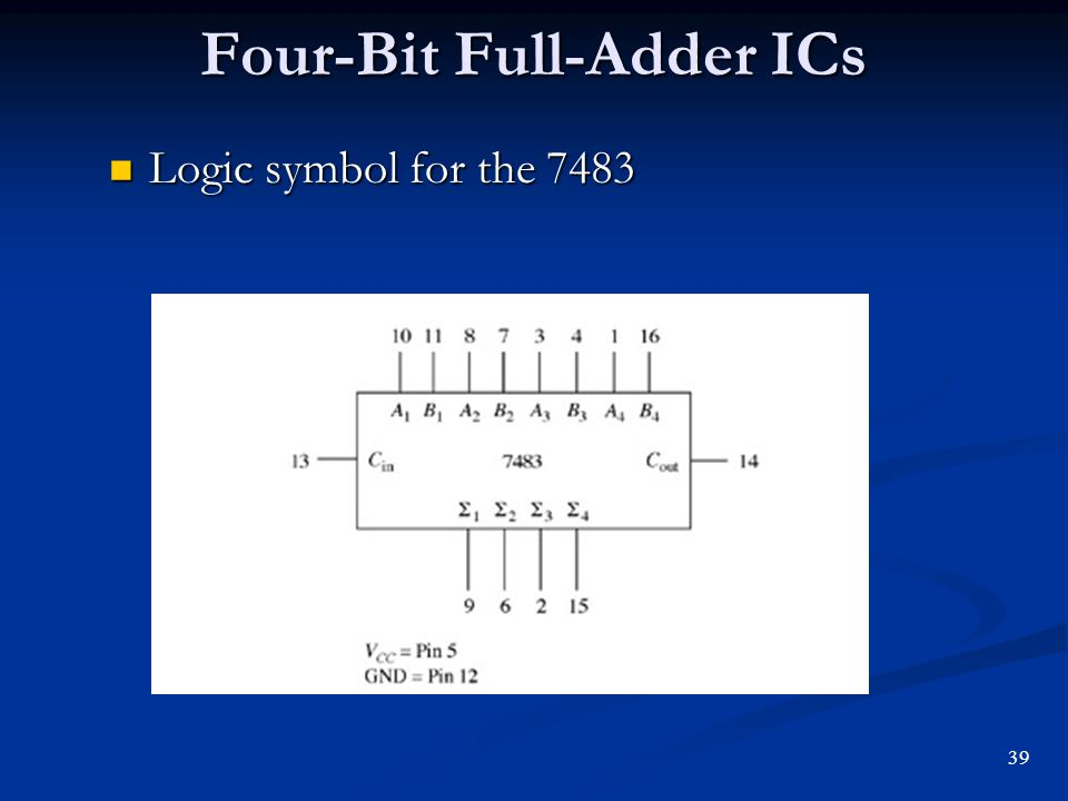 arithmetic operations and circuits
