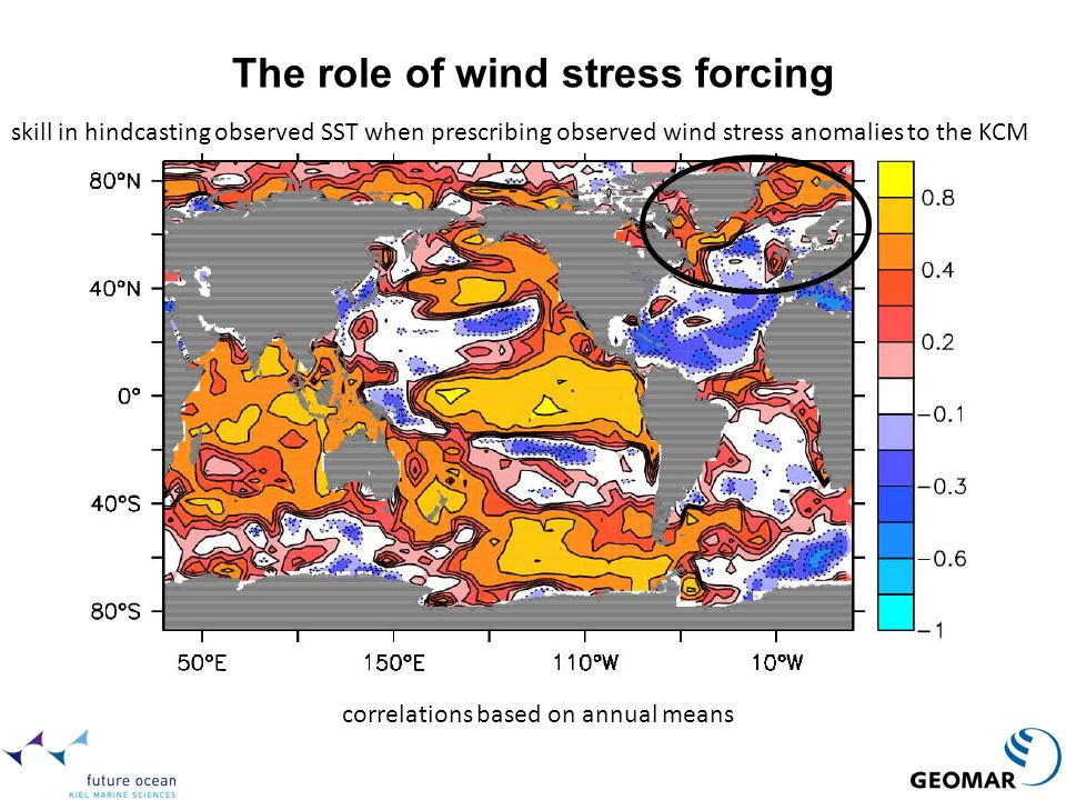 The role of wind stress forcing