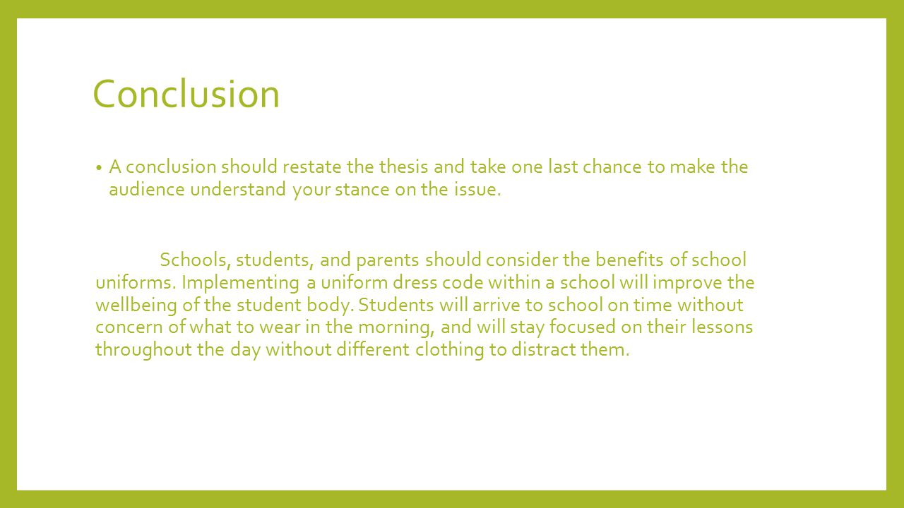school uniforms benefits essay School uniforms - the benefits of a student dress code.