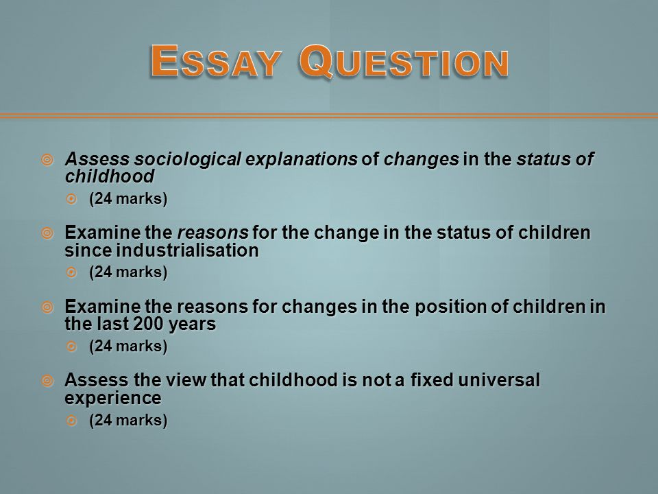 childhood ppt  33 essay