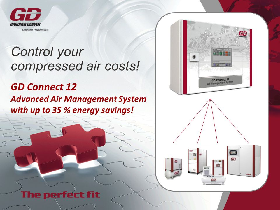 Control your compressed air costs!