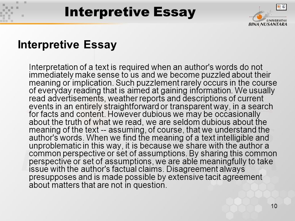 Santa Clara University Essay Prompt Interpretive Essay Essay On My Favourite Place also Who I Admire Essay Interpretive Essay  Rohosensesco Essay About Grandmother