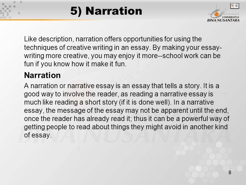 Narrative Essay - Scary Experience