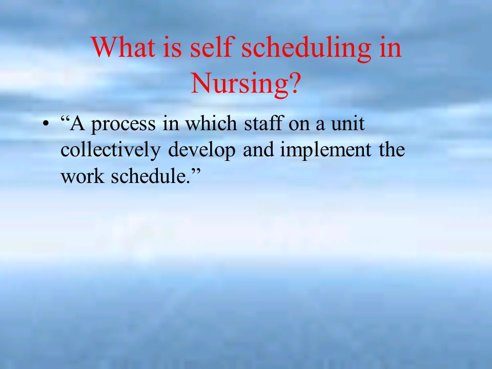 Staffing And Scheduling. - ppt download