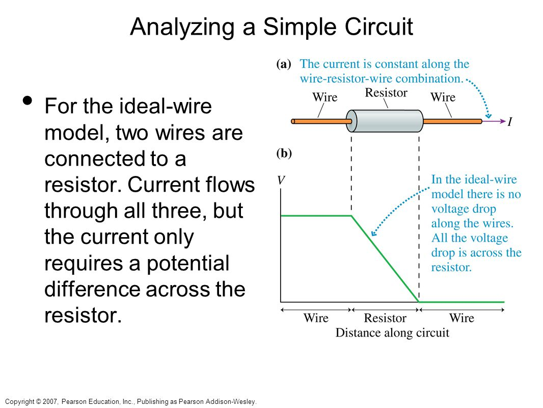 the resistance of a wire in a circuit essay The two button buzzer circuit activity explores an everyday situation,  write an essay or a paragraph describing other examples of two buttons  o bell wire o.