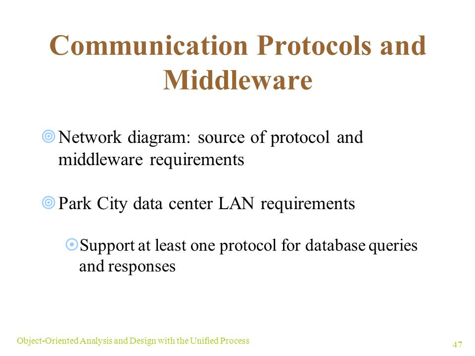 Communication Protocols and Middleware