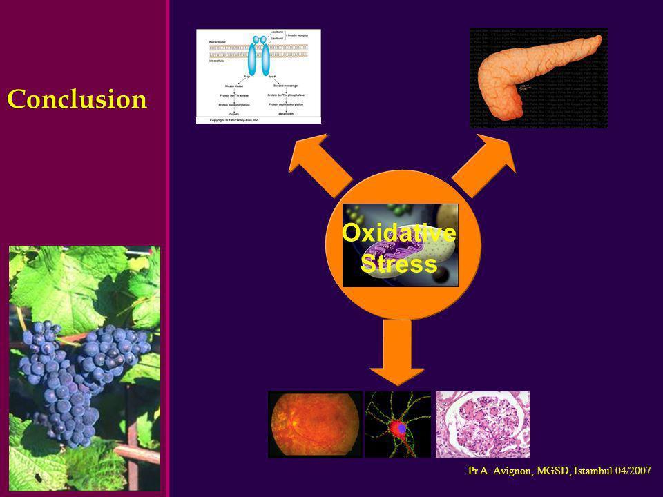 Conclusion Oxidative Stress Oxidative Stress