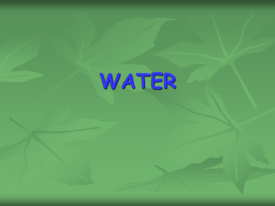 Mineral Water Plant Project Report