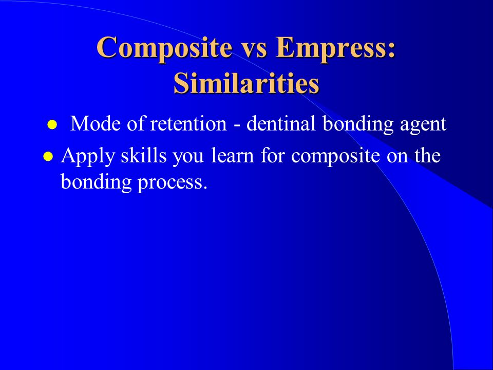 Composite vs Empress: Similarities