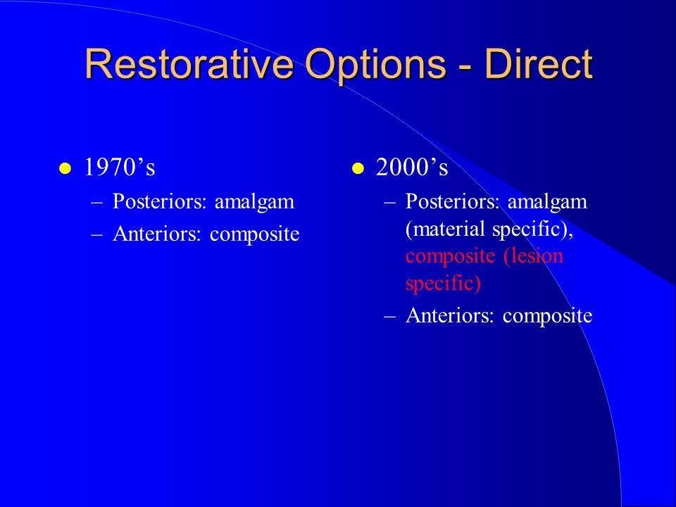 Restorative Options - Direct