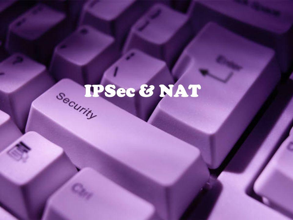 IPSec & NAT