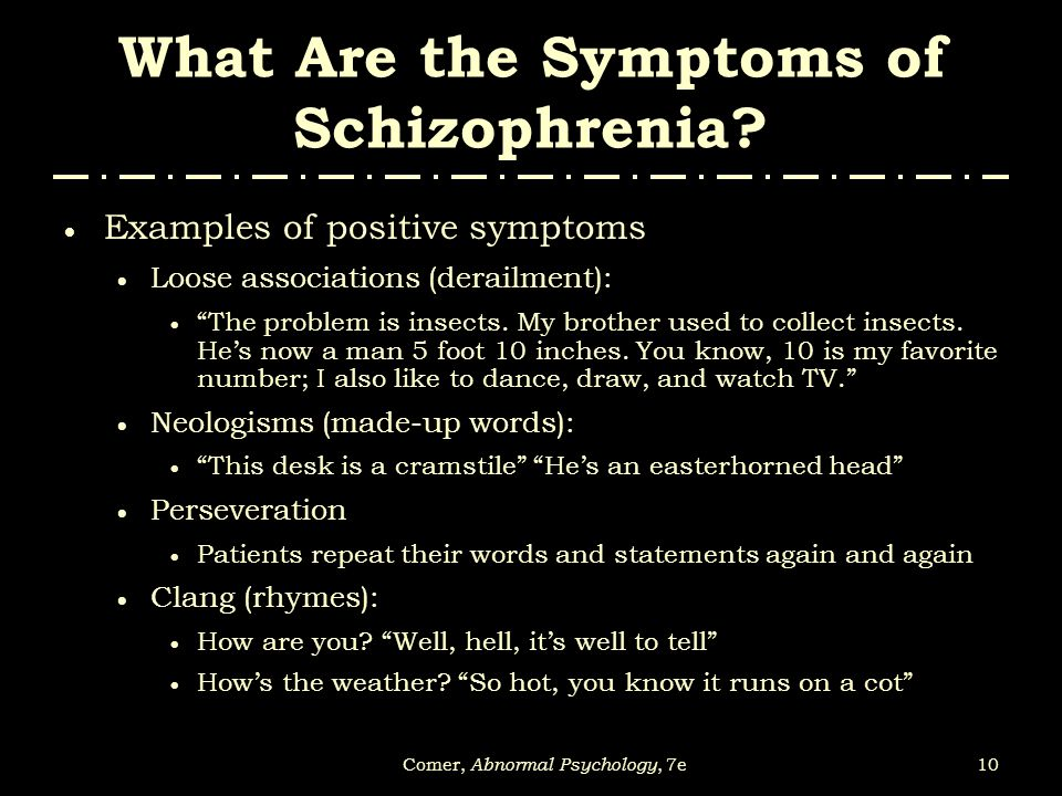 analyzing schizophrenia on the example of a patient Of people with schizophrenia who live in the commu- nity, analyze how those  needs differ when evaluated by staff or by patients, describe the kind of help.