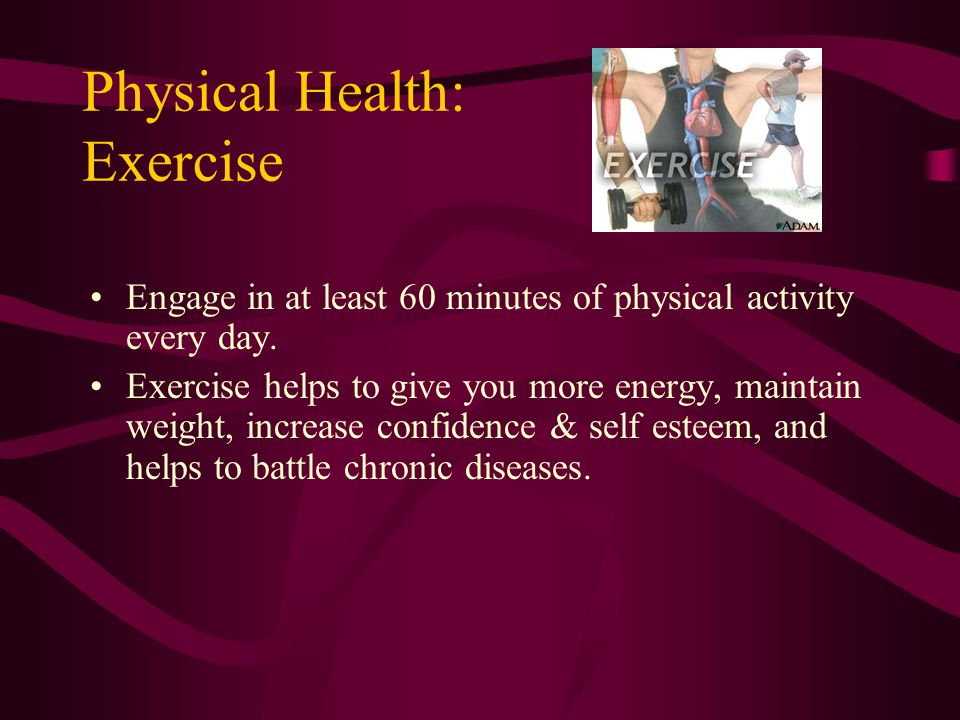 Physical Health: Exercise