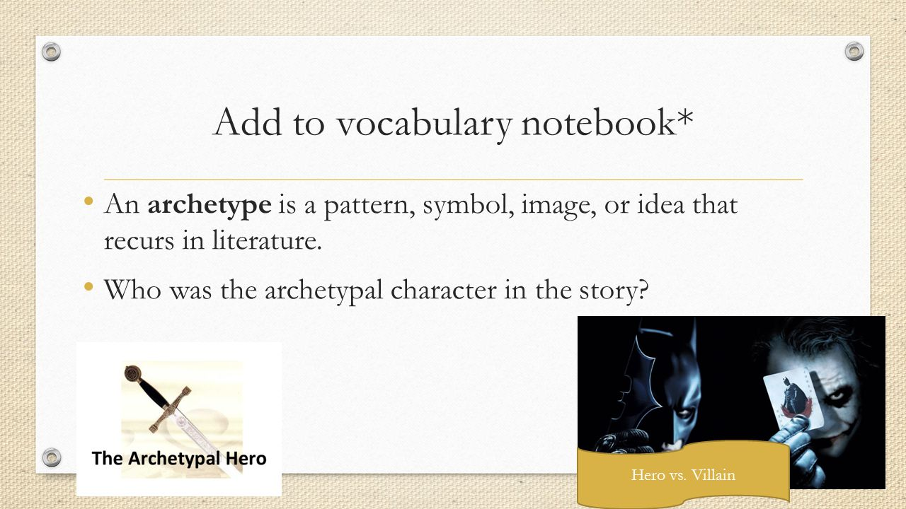 Add to vocabulary notebook*