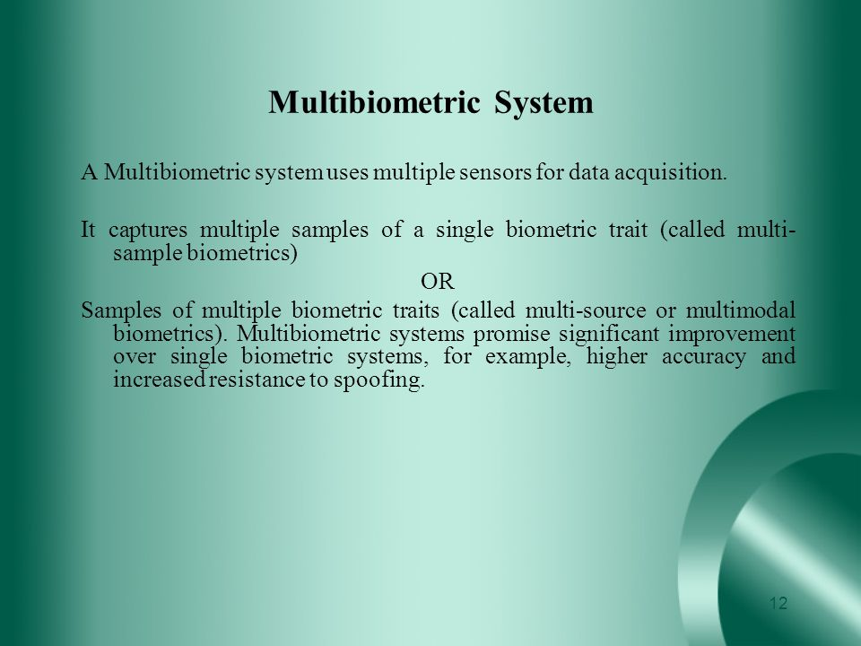 Multibiometric System