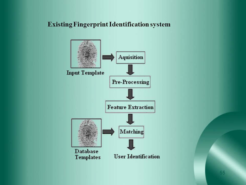 Existing Fingerprint Identification system
