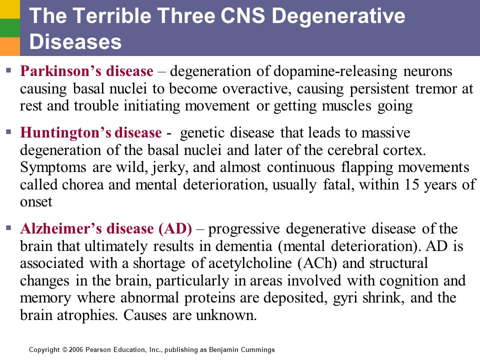 a research on huntington disease a hereditary degenerative brain disease Huntington's disease society of america has received 2 consecutive 4-star  ratings  and supports research and medical efforts to eradicate huntington's  disease  huntington's disease (hd) is a devastating, hereditary, degenerative  brain.