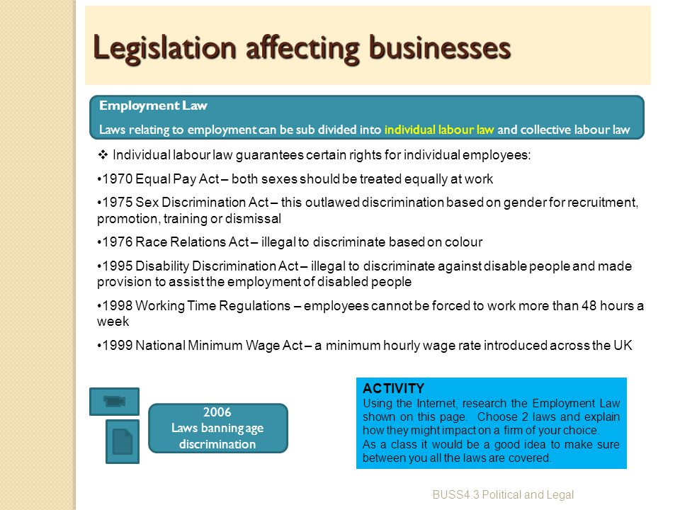 the impact of employment law at the start of the employment relationship The employment contract in irish employment law-the a huge role in the employment relationship the legal relationship between immediate impact.