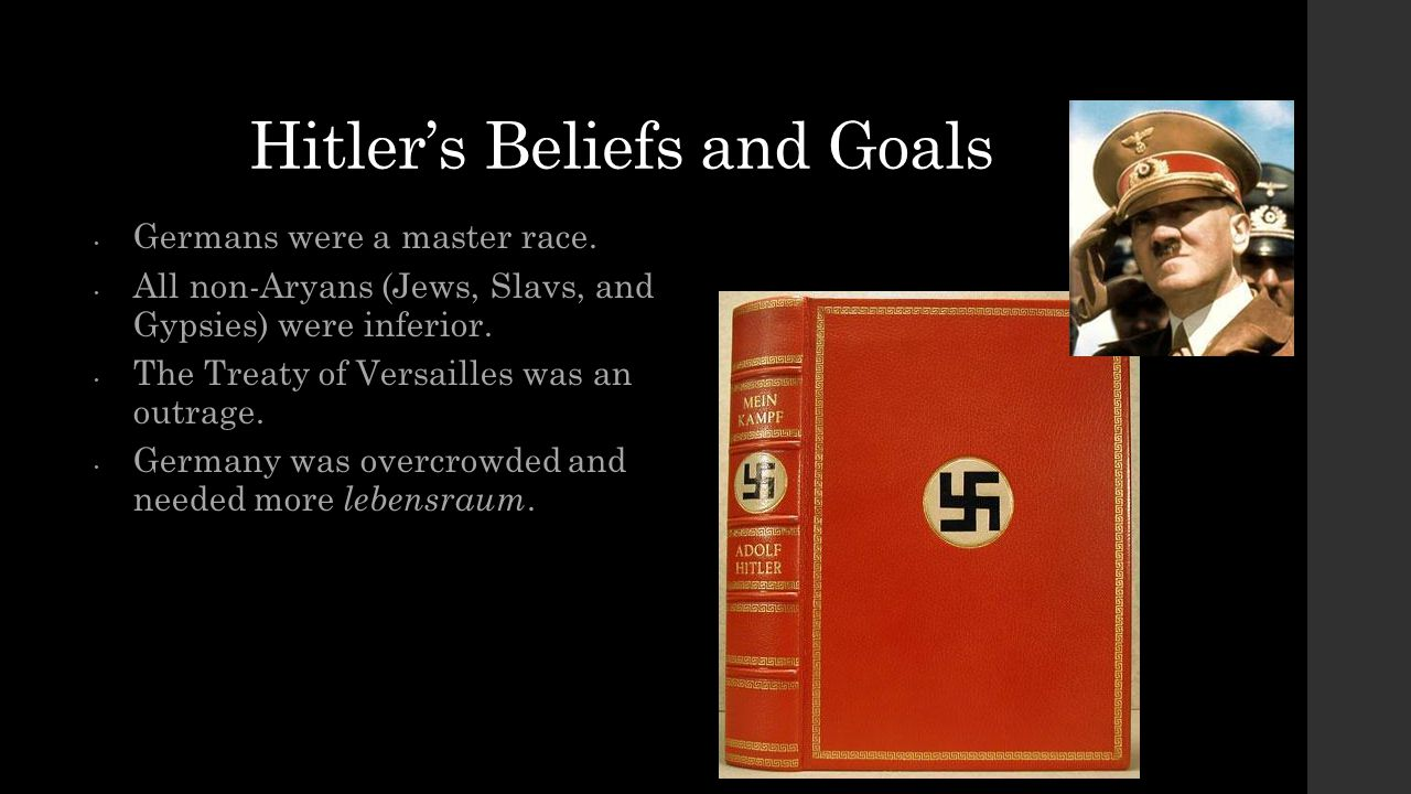 Hitler's Beliefs and Goals