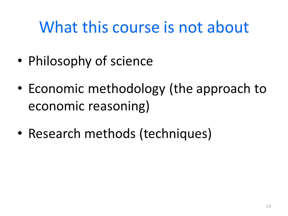 philosophy of research methodology
