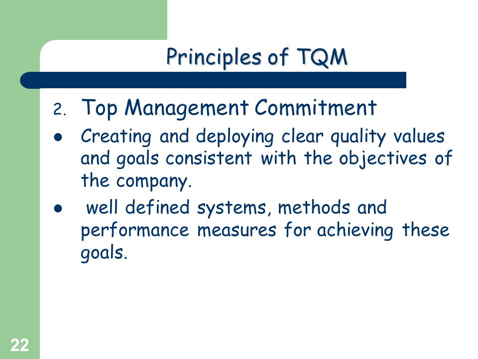 Top Management Commitment