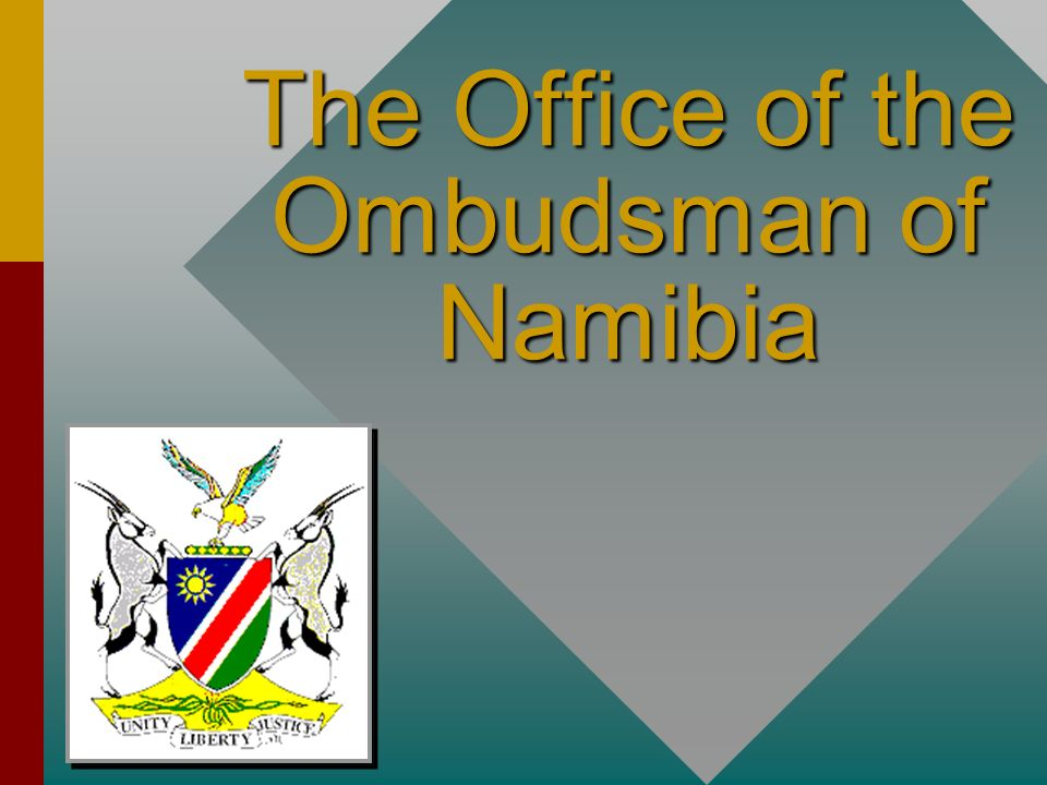 The Office of the Ombudsman of Namibia