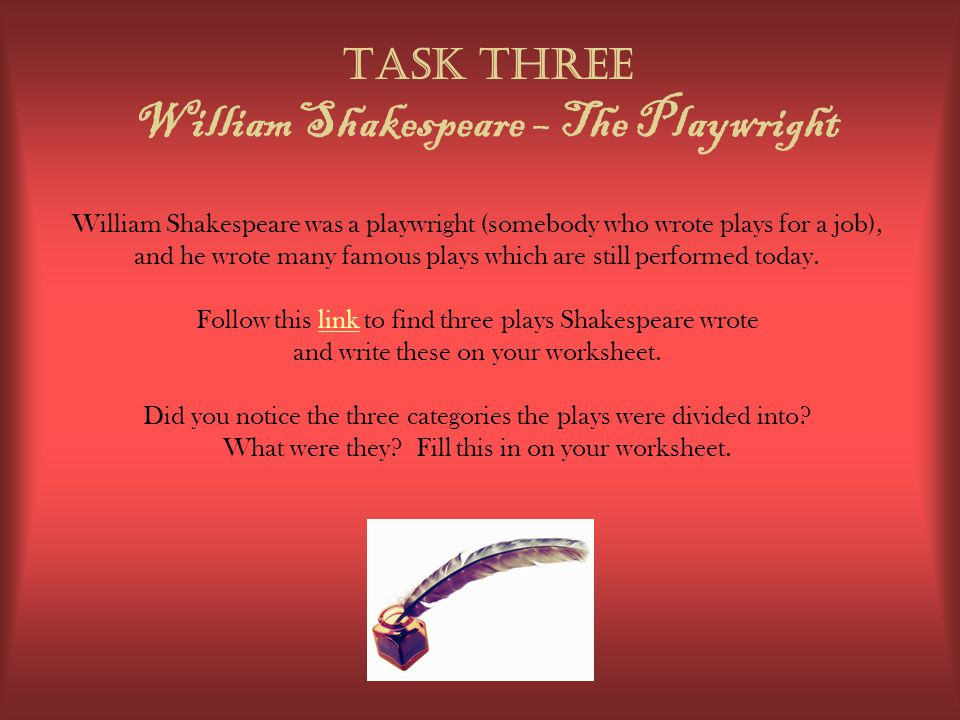 the perfectly imperfect story of william shakespeare the playwright Here's a collection of shakespeare worksheets, designed to help make learning about the playwright fun in the classroom or home william shakespeare story paper.