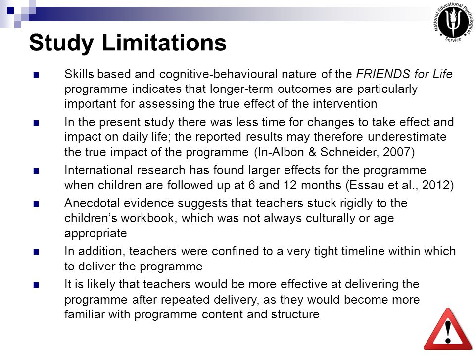limitations of a research study pdf